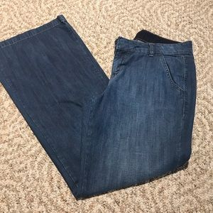 Gap wide leg trouser jeans